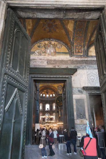 Hagia Sophia imperial door