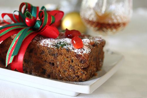 Moist Christmas Fruit Cake recipe - Fruit cake is a traditional British Christmas cake that is full of fruits and nuts and laced with alcohol, usually brandy.  This gives the fruit cake a subtle brandy flavor and a moist texture, plus it also allows the fruit cake to be stored fora long time. #holiday #baking #fruitcake #fruit