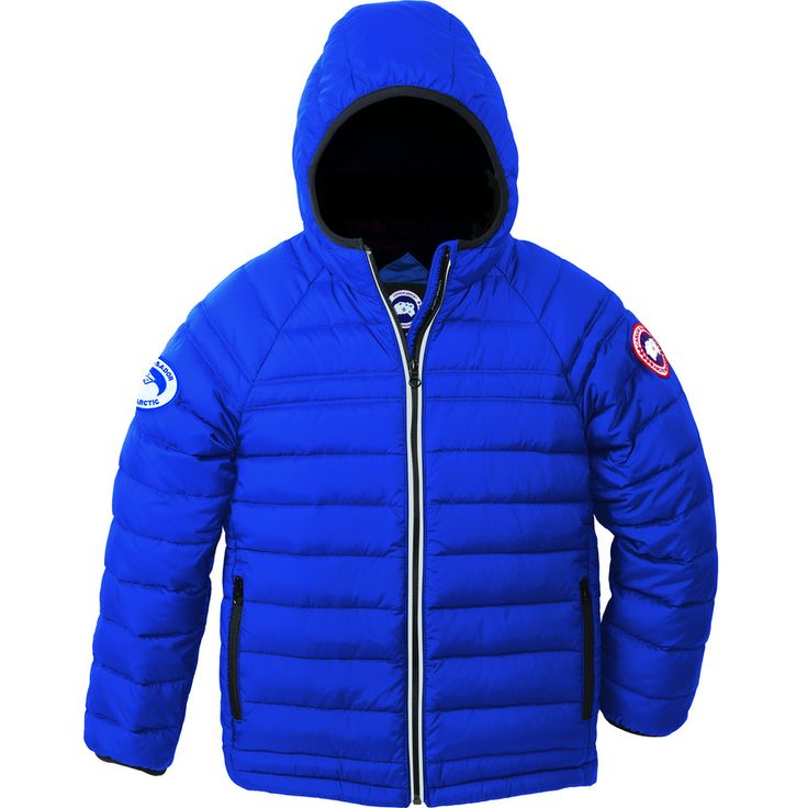 Canada Goose - Polar Bears International Sherwood Hooded Down Jacket - Boys' - Pbi Blue