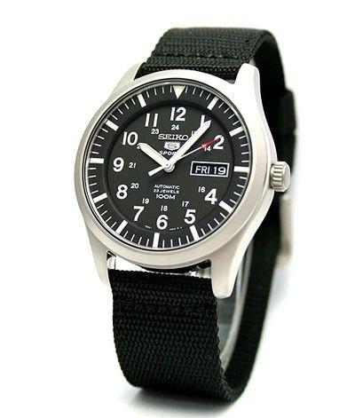 Reloj Seiko SNZG15K1 automatico neo sport hombre military