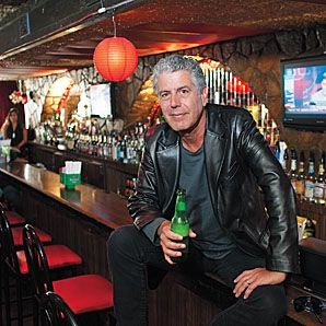 "Anthony Bourdain: ""There are the type of people who are going to live up to what they said they were going to do yesterday, and then there are people who are full of shit. And that's all you really need to know. If you can't be bothered to show up, why should anybody show up?"""