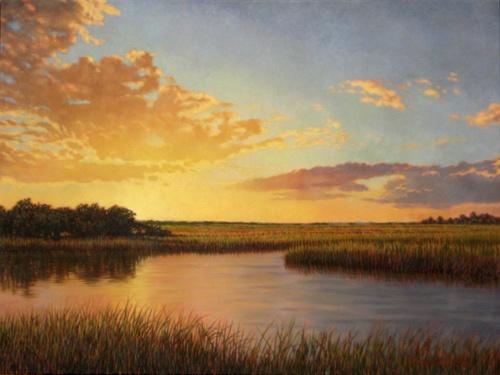 Edisto Island salt marsh