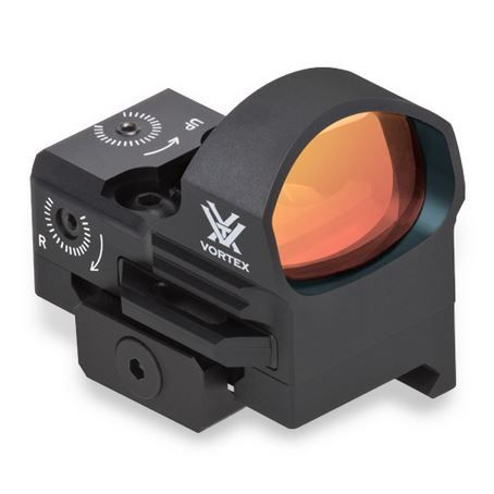 Vortex RAZOR Red Dot — 3 MOA Dot The high-end Razor is a reflex sight built for top-tier performance and incredible versatility. The highly polished glass is clear and crisp from edge to edge. Exceptional resolution and a wide field of view present a sight picture sure to impress.