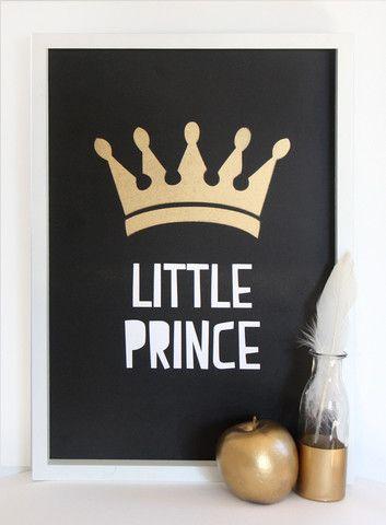 Cloud Nine Creative - Little Prince Print - A3