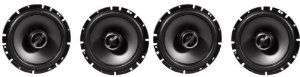 """(2) Pairs Brand New Alpine 6.5"""" 2 Way Pair of Coaxial Car Speakers Totalling 960 Watts Peak / 320 Watts RMS by Alpine. $134.95. (2) Pairs Brand New Alpine 6.5"""" 2 Way Pair Of Coaxial Car Speakers Totalling 960 Watts Peak / 320 Watts RMS Features:  6-1/2"""" Type-S Series Car Speakers Tuned poly-mica cone woofer Butyl rubber surround for natural response and stability 1"""" Wide-Range Silk dome tweeter Optimized air-flow design Progressive Aramid Fiber Spider with optim..."""