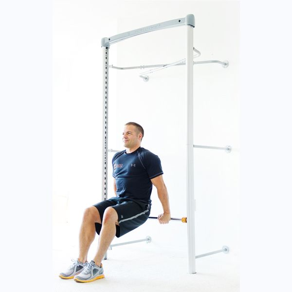 Bodyweight Strength Functional training workout system. Wall Mounted Gym pull up bar adjustable pullup bar pull-up dip station for all exercise environments