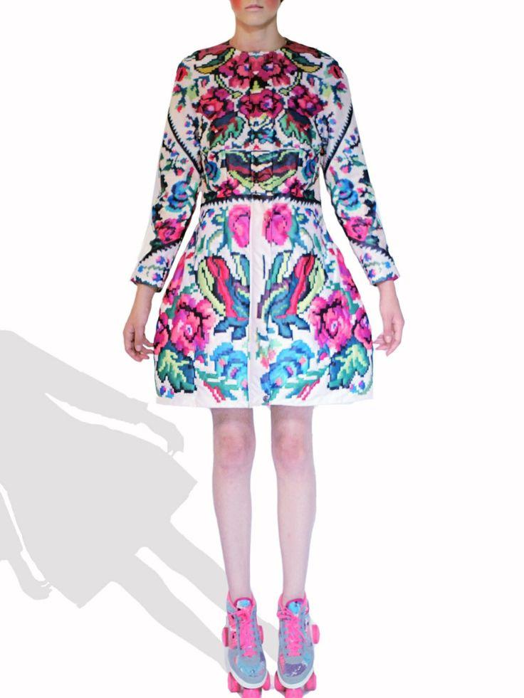 Etno Star Jacket #lana #dumitru #lanadumitru #digitalprint #etnomotifs
