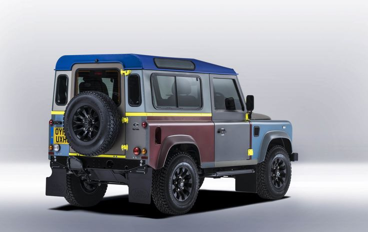 Paul Smith patches up a Land Rover Defender