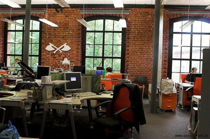 Yandex office - rustikal