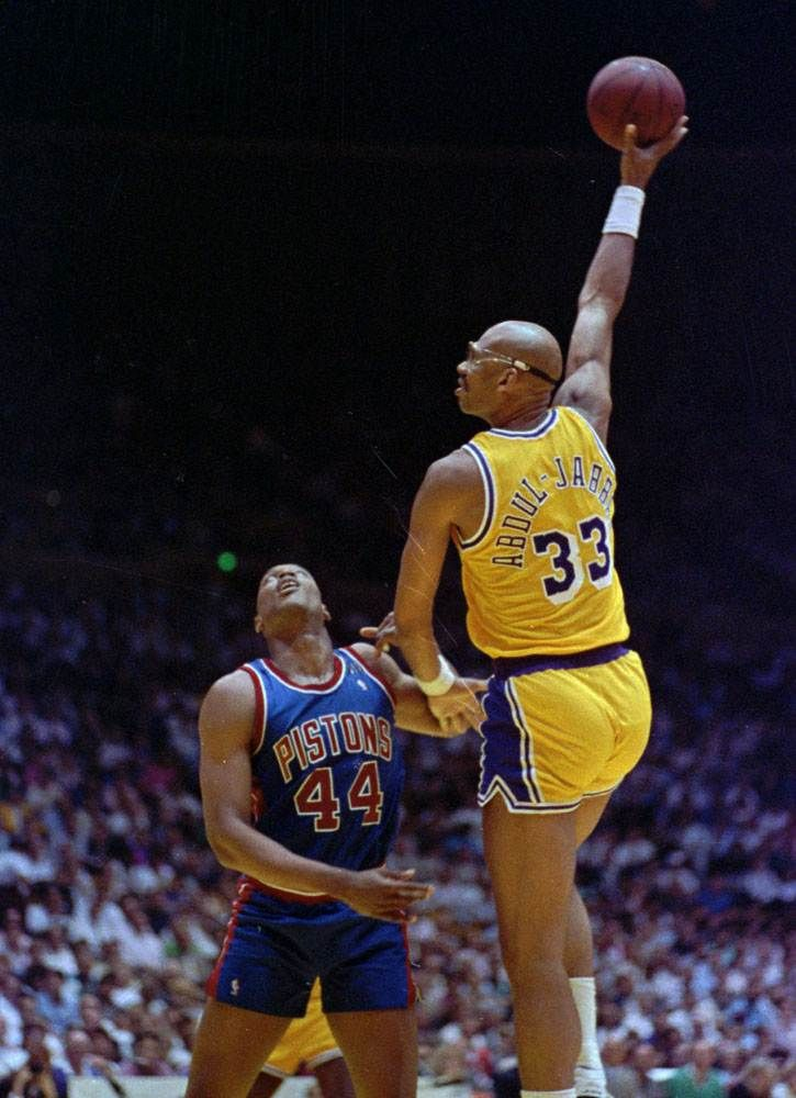 Kareem AbdulJabbar (Hall of Famer + Lakers Legend). Best