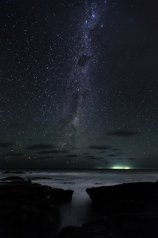 Night Sky: Wye River on the Great Ocean Road, Victoria, Australia