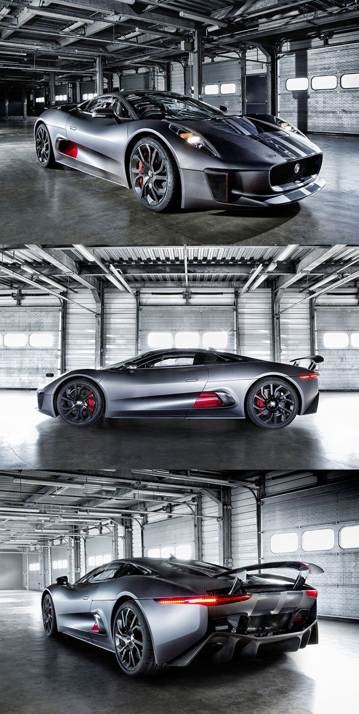 Jaguar C-X75 Hybrid Sport Car. #cars #jaguar