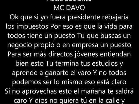 MC DAVO El Mañana FT MENY MENDEZ + LETRA - YouTube