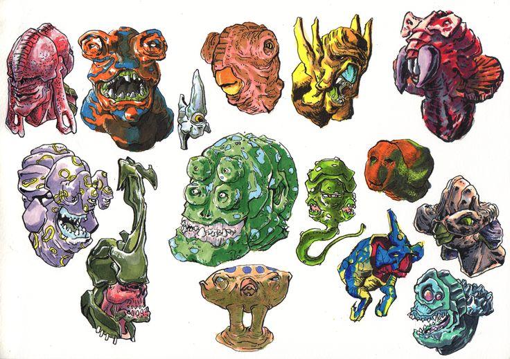Head Doodle 02 -Inktober2015