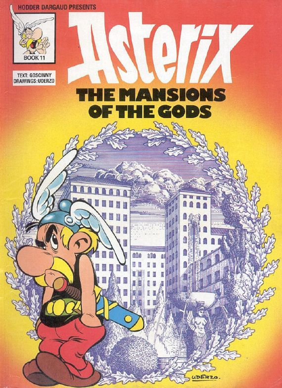 Asterix The Mansions of the Gods Album 17 No by GraphicWorld85, $1.99