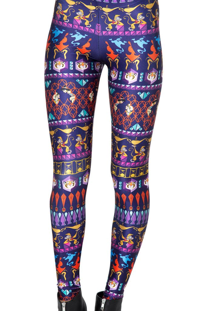 A Whole New World Leggings by Black Milk Clothing $85AUD