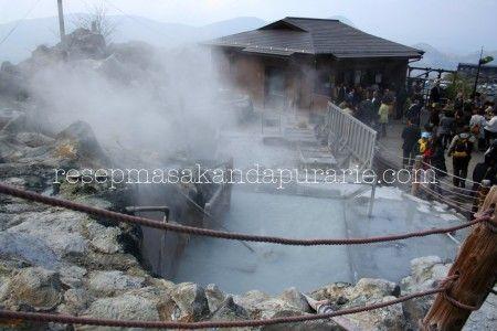 Hot Spring Owakudani, Hakone Jepang - 4 Hari Wisata Di Hakone (bagian 2)- Edisi Liburan di Jepang Day 8 to 11