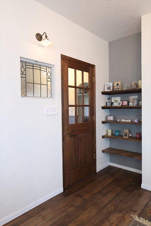 エイジングを施したシャビーシック フレンチスタイルの家 ヴィンテージ