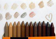 Giz de Cera de fabricante brasileira traz 12 cores de pele para a sala de aula