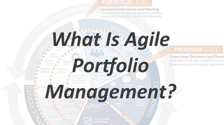What is Agile Portfolio Management