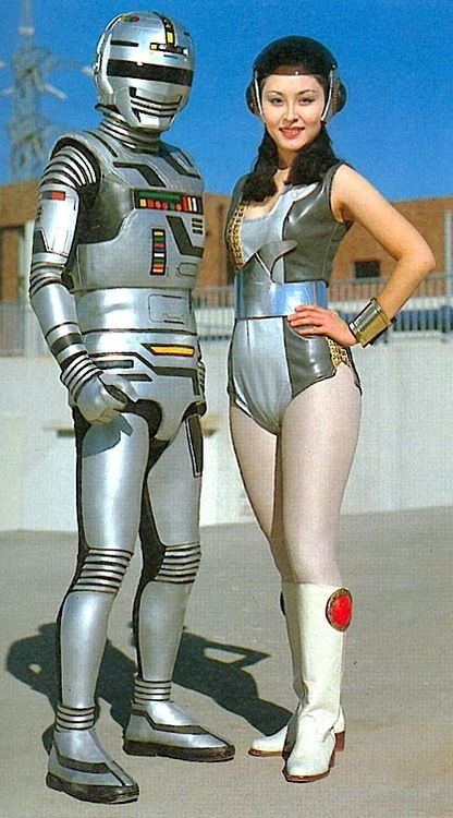"""Space Sheriff Gaban and Mimy"", photographie space age"