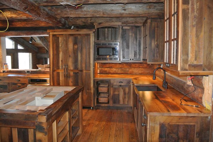 Gallery of 17 rustic kitchen designs page 2 of 2 zee for Rustic kitchen cabinets