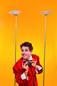 """Mr.Gørski - An absolute crowd pleaser, so simple yet effective, drawing the audience into the routine and allowing the inner child to Shout!  See for yourself """"…reminiscent of Chaplin or Keaton…"""", (Adelaide Fringe 2010)"""