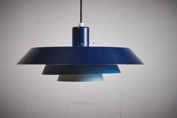 Troika Pendant Lamp By Bent Karlby For Lyfa 1960s 14 Lamp Pendant Lamp Pendant Lighting