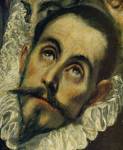 El greco self potrait is just like people today making reflection of themselves of how they look, their emotions help paint a great portrait