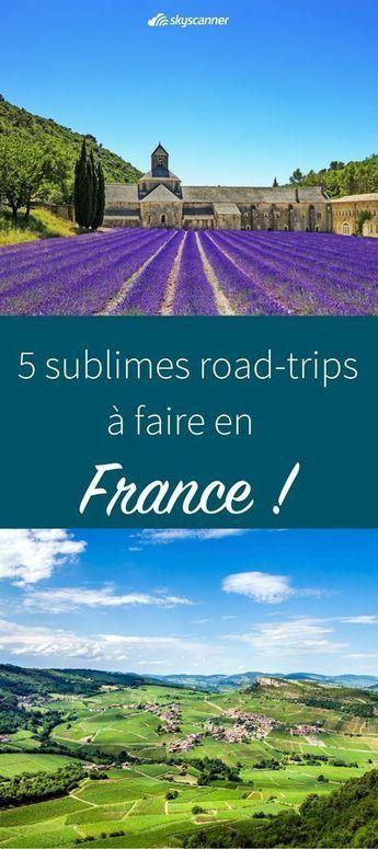 5 itinéraires à faire en France pour un road-trip ! Envie de vous évader quelques jours et partir découvrir ou redécouvrir la France ? Le road-trip c'est l'option idéale pour un long weekend à votre rythme. Où aller et que voir ? voici notre guide pour un petit road-trip en France.