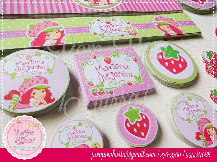 Fresita, Strawberry shortcake