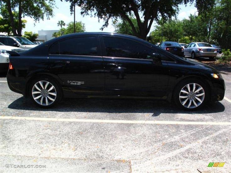 Honda Civic SI 2014 Black Sedan