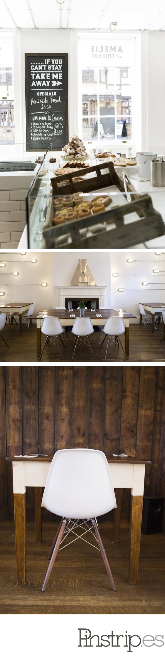 Warm inviting restaurant with wood white wish i lived for Interior design agency nottingham