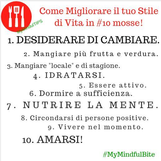 Il primo passo per ottenere qualcosa è desiderarlo davvero.  #ImproveYourLifeStyle #MindfulEating #MyMindfulBite Segui i miei consigli sul mio blog ---> http://michelacicuttin.com/
