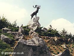 Newfoundland Park Memorial, Beaumont Hamel, WW1 Somme battlefield, France