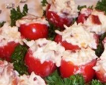 Bacon Stuffed Cherry Tomatoes Recipe