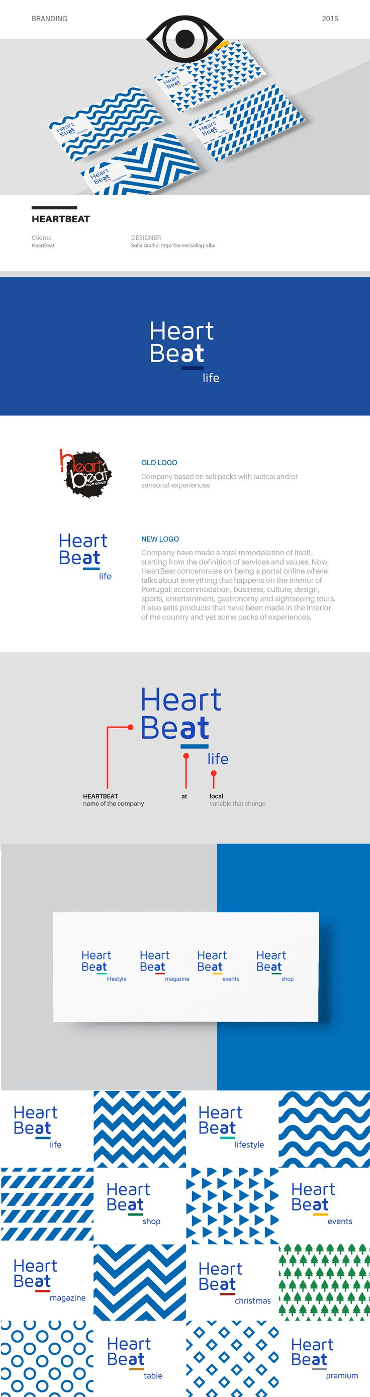 Total Rebranding of a company based on sell packs with radical and/or sensorial experiences. Company have made a total remodelation of itself, starting from the definition of services and values. Now, HeartBeat concentrates on being a portal online where …