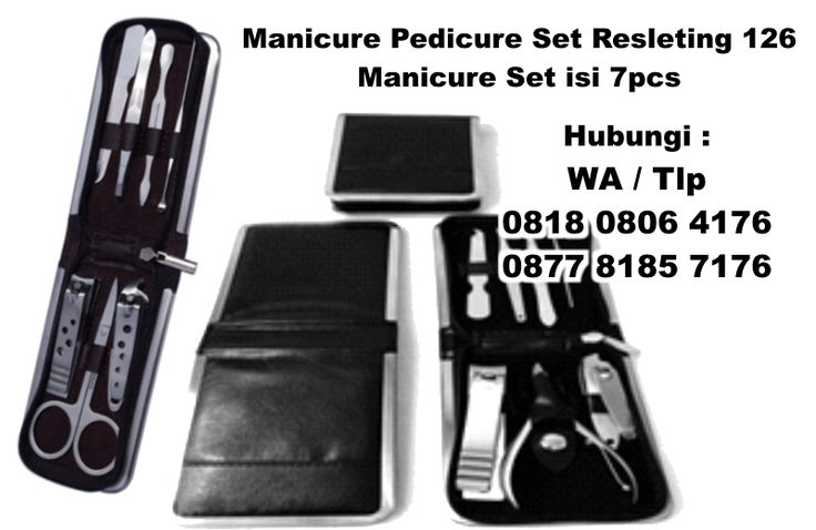 Jual Manicure Pedicure Set Resleting 126 - Manicure Set isi 7pcs