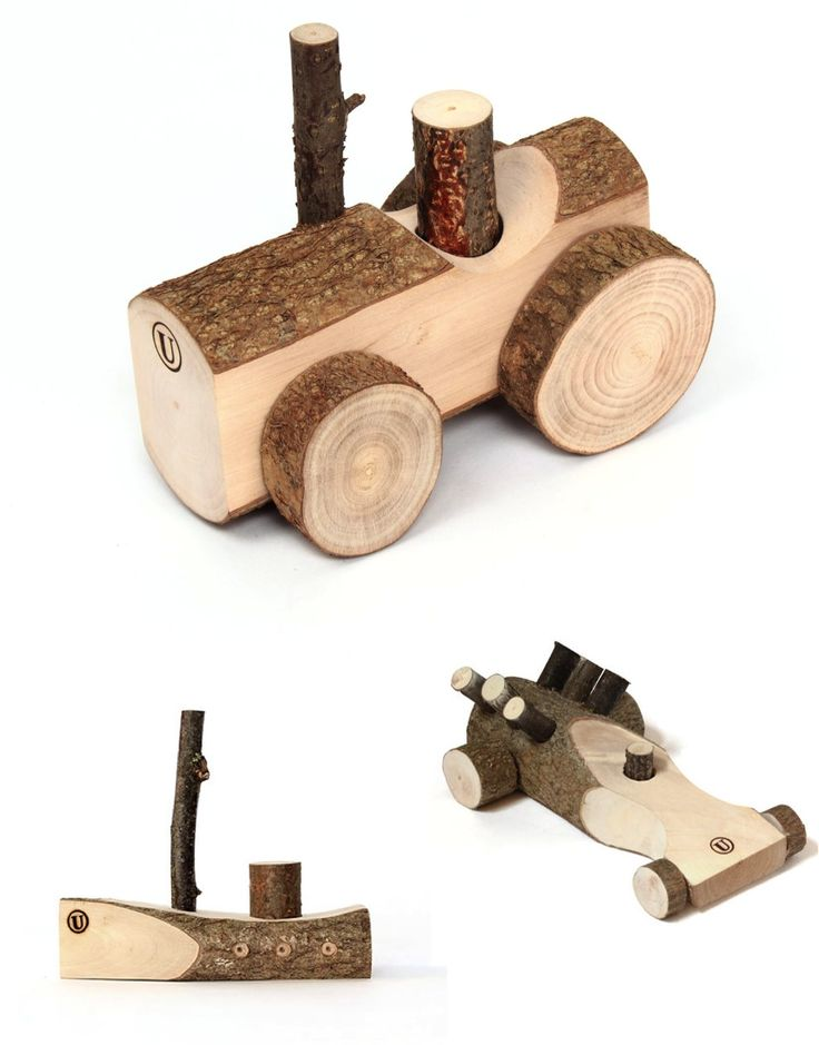 handcarved wooden toys