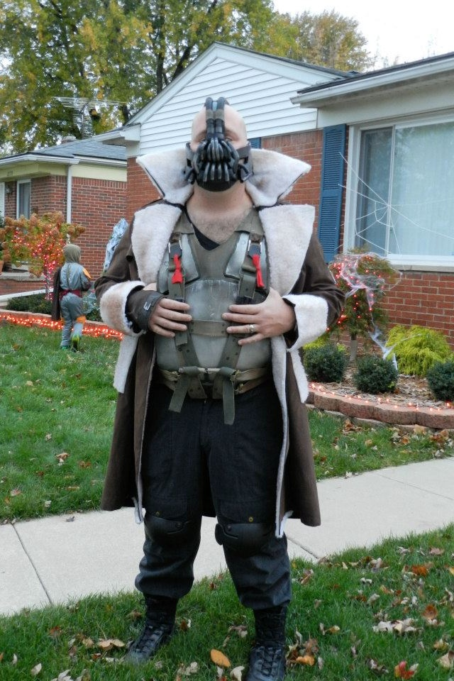 my diy bane costume - Halloween Costumes Bane