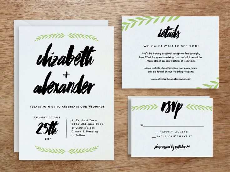 Printable Wedding Invitation Sets: 967 Best Images About #Wedding Invitations On Pinterest