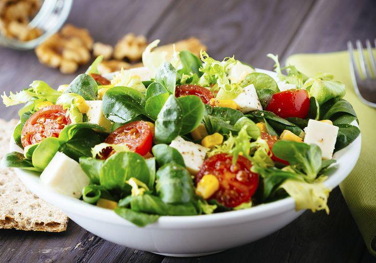 7 passos para fazer uma salada perfeita