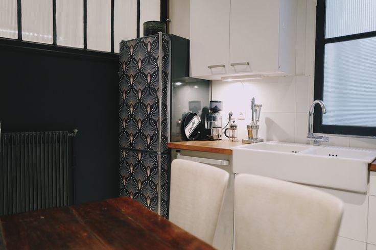 56 best at home chez moi images on pinterest follow - Avec quoi nettoyer son frigo ...