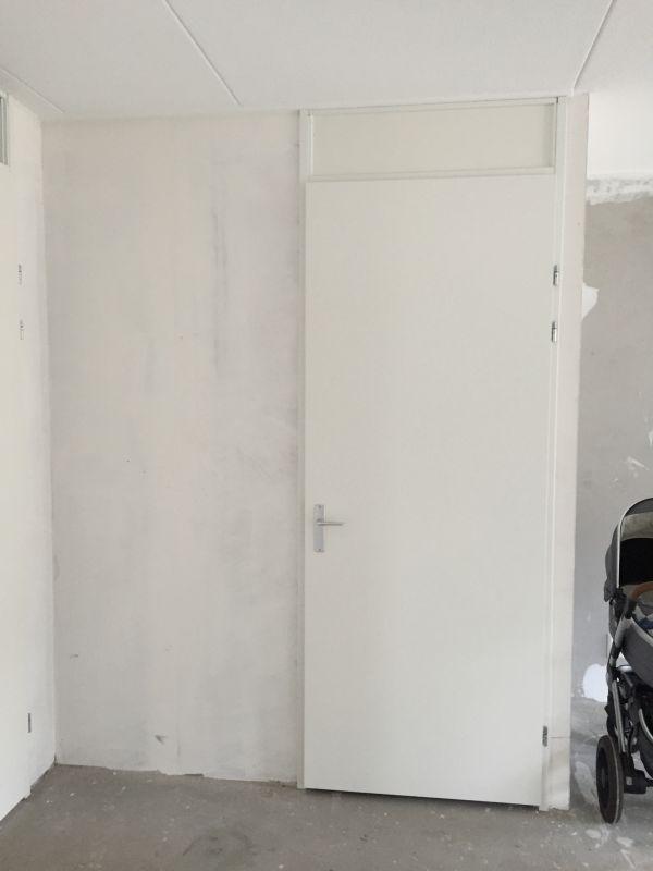 Draaiende deur vervangen door schuifdeur (nieuwbouwhuis)