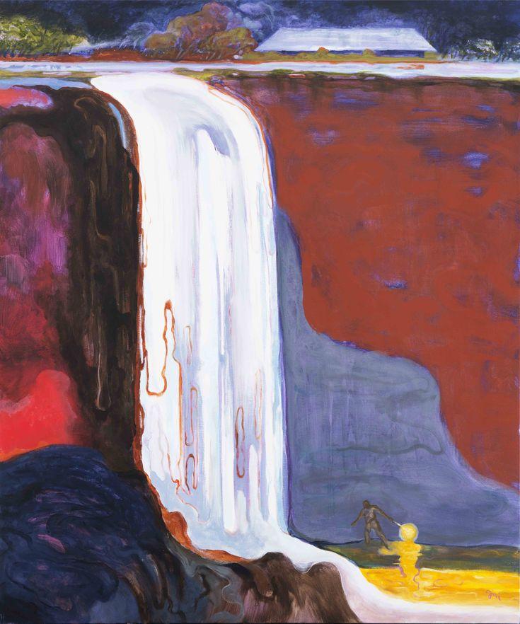 Jiří Hauschka: God in the house, 2016, acrylic on canvas, 120 x 100 cm