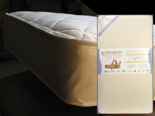 Naturepedic 2in1 Ultra Waterproof 252 Coil Crib Mattress.