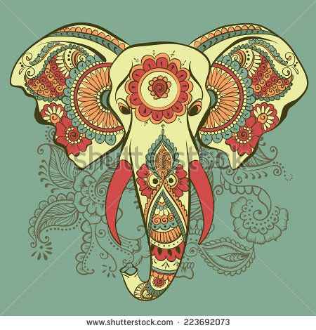 Henna Elephant Designs Drawings Google Search Things