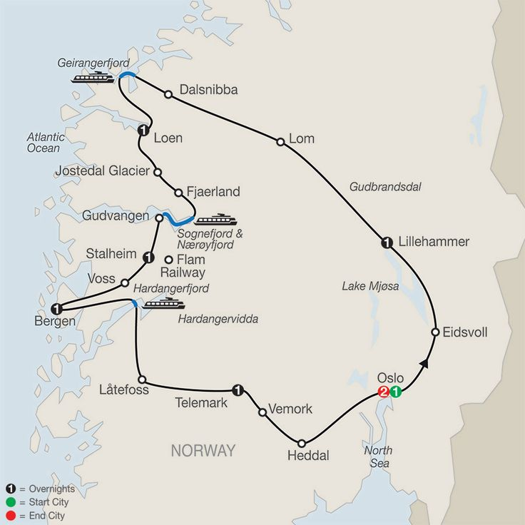 Norway Tours - Globus® Guided Tour Packages