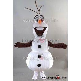 La Reine Des Neiges Bonhomme de Neige Olaf  Mascotte Costume