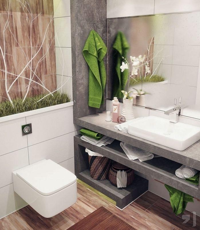 ▷ 1001 + astuces et idées d\u0027aménagement petite salle de bain 2m2